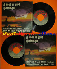 LP 45 7'' LEROY VOHN AND MONEY I met a girl Solange 1978 italy SYMBA cd mc dvd *
