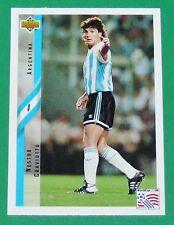 FOOTBALL CARD UPPER DECK 1994 USA 94 NESTOR CRAVIOTTO ARGENTINA ARGENTINE