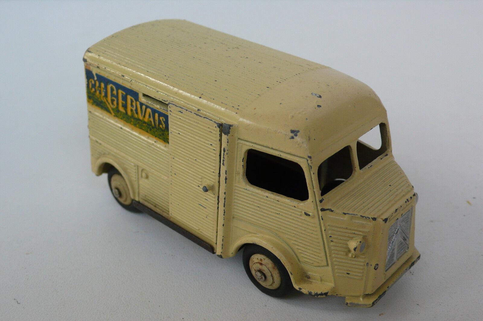 DINKY TOYS FRANCE  CITROEN 1200Kg HY     GERVAIS   1959   BON  ÉTAT  prix bas tous les jours