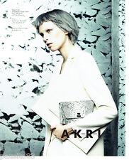 PUBLICITE ADVERTISING 066  2015  Akris sac & haute couture 2