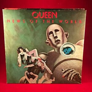 QUEEN-News-Of-The-World-1977-UK-VINYL-LP-EXCELLENT-CONDITION-original
