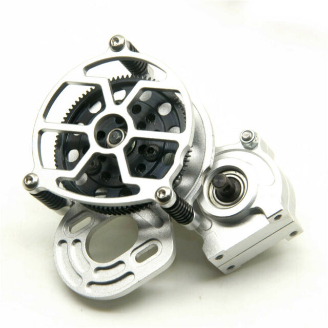 Alloy Transmission Case Center Gearbox Gear for 1/10 RC Crawler Axial SCX10 US