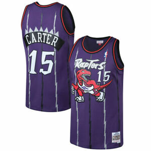 Men's Toronto Raptors Vince Carter Mitchell & Ness Purple 1998-99 NBA Jersey