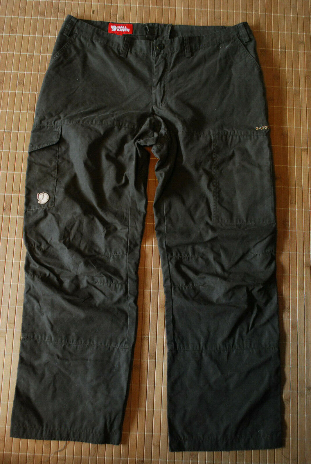 Fjallraven Karla G-1000 Pants Unisex W 36 L 30 Trousers Fjällräven hunting