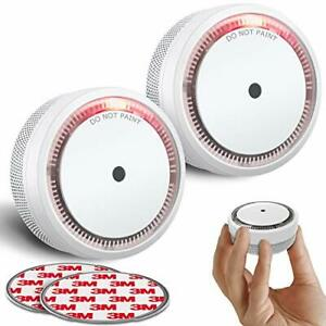 SITERWELL Smoke Detector  Photoelectric Technology Smoke Alarm with 10 Year L...