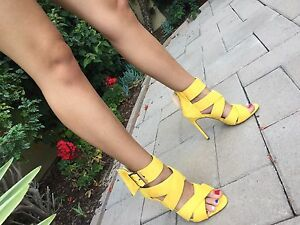 6436a4aea Barbara-51 Strappy Open Toe Stiletto Sandals High Heels Dress Womens ...