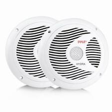 PYLE PLMR60W 150-Watt 6.5-Inch 2-Way Marine Speakers (White)