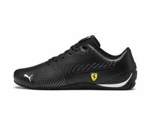 NEW-NIB-Men-039-s-Puma-SF-Ferrari-Drift-Cat-5-Ultra-II-Sneakers-Shoes-306422-03-Blk