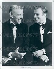 1976 Dancers Actors Legends Fred Astaire Gene Kelly in Tuxes  Press Photo