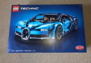 Lego Technic Bugatti chiron 42083 BOX & INSTRUCTIONS ONLY ...