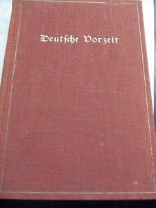 Deutsche Vorzeit Einführung in die germanische Altertumskunde antik 1923