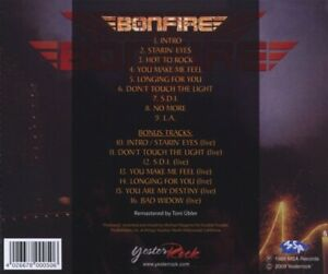 BONFIRE-DON-039-T-TOUCH-THE-LIGHT-CD-NEW
