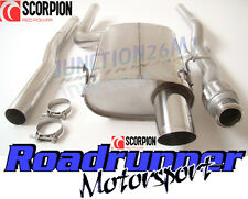 Scorpion Mini Cooper R56 Exhaust System Stainless Cat Back Non Res MK2 (06-14)