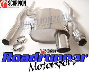 scorpion mini one cooper r56 mk2 exhaust system cat back non res louder smns006 ebay. Black Bedroom Furniture Sets. Home Design Ideas