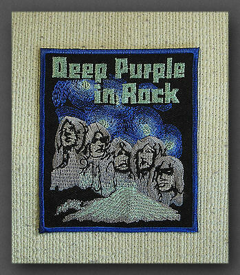 DEEP PURPLE Iron On Sew On Embroidered Patch Rock