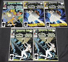 Marvel Copper STRANGE TALES VOL. 2 - 5pc Comic Lot Grade FN-VF Cloak & Dagger