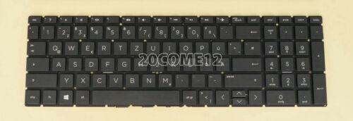 New For HP 250 G7 255 G7 256 G7 Keyboard GR German Tastatur no frame black
