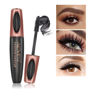 Alive-Black-3D-Silk-Fiber-False-Lash-Mascara-Waterproof-Eyelash-Extension-Volume