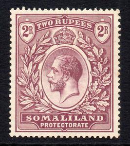 Somaliland-2-Rupee-Stamp-c1921-Mounted-Mint-1653