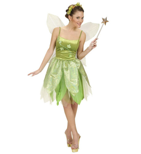 TINKERBELL STYLE FOREST FAIRY POISON IVY FANCY DRESS COSTUME LADIES FEMALE
