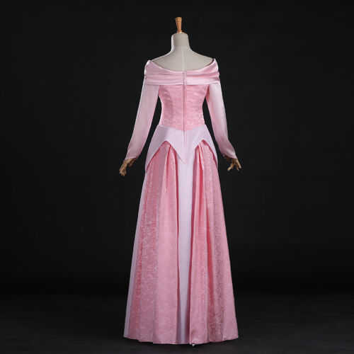 Dornröschen Sleeping Beauty Aurora Disney Cosplay Kostüm Kleid lang long Märchen