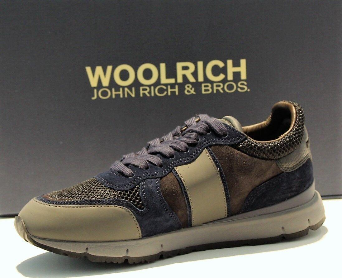 Woolrich Calzado Botines Pantoufles Hombre Jogger W3000400 Único Vibram a   I18