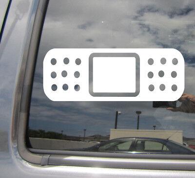 Tis But A Scratch Funny Bumper Sticker Vinyl Decal Accident Crash Dent Car Decal