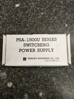 Phihong Psa-1504u Switching Power Supply 110v/4a 220/2a In, 12v/12a/144w Dc Out