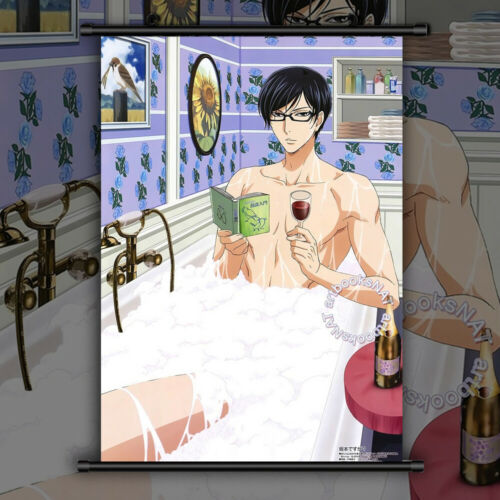 Anime Manga Wallscroll Poster Kunstdrucke Bider Drucke Sakamoto desu ga