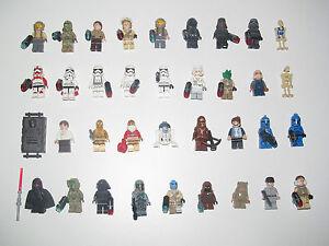 Lego-Star-Wars-Minifigure-Figurine-Droid-Dark-Vador-Choose-Minifig-NEW