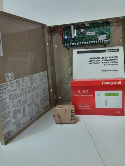 VISTA20P - Ademco 8 Zone Control Panel bundle w/ 6160 Keypad