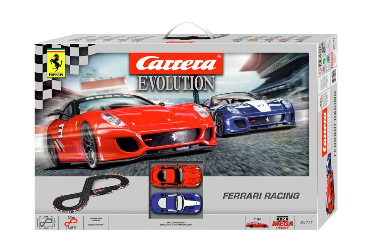 CARRERA CARRERA CARRERA Evolution 25171 Circuit Ferrari Racing 225f79