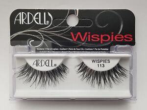 Lot-of-4-Ardell-Pestanas-Falsas-glamour-113-Ardell-pestanas-negro-ralas