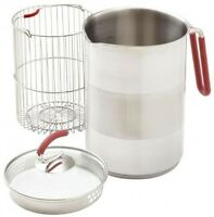 Kuhn Rikon 12-cup 4th Burner Pot, 4200, Pouring Spout Stove Top Cooking Basket on sale