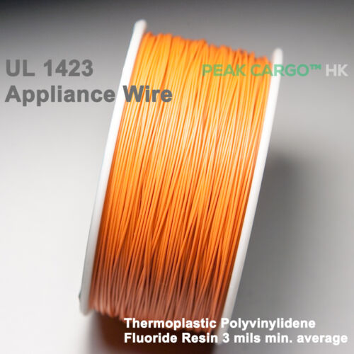30 AWG UL 1423 Appliance Wrapping Wire 300M Copper Wrap Cable Spool Taiwan