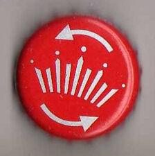 UK Beer Bottle Top Crown Cap - AB Inbev Brewery - Bud (Twist Cap)