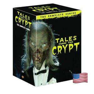 Tales-from-the-Crypt-The-Complete-Series-Seasons-1-7-DVD-2017-FREE-SHIPPING