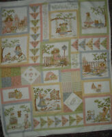 Northcott Gentler Times Flannel Panel & Coordinate Quilt Fabric - 1 7/8 Yds