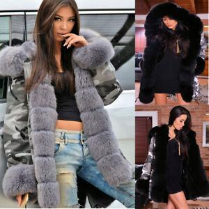 Black Winter Coat with Faux Fur Liner |