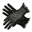 Gants-courts-noirs-en-fine-resille-noeuds-paillettes-argentees-retro-pinup-glam miniature 1