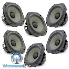 "LOT OF 6 JM LABS 5.25"" MID-WOOFER MIDRANGE HOME OR CAR AUDIO SPEAKERS BY FOCAL"