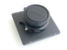Nikkor (Nikon) W 150mm / f5.6 lens, Copal 0 shutter, a lensboard