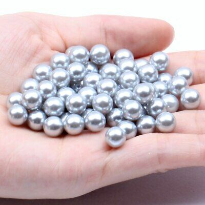Small Pack 3mm 500pcs Multiple Colors No Hole Round Pearls Nail Art Decorations