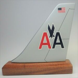 American-Airlines-Old-AA-Livery-Colors-Desk-Top-Airplane-Tail-Section-ES-Model