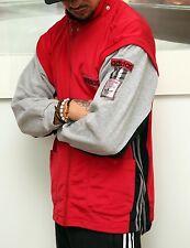 VINTAGE con Adidas Originals Poppers Kim Kardashian Tuta Giacca Gilet M
