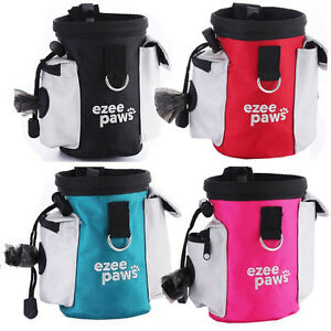 Dog-Puppy-Training-Treat-Snack-Bag-With-Poo-Bag-Holder-Belt-Clip-by-Ezee-Paws