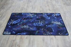 Qualite-Star-Wars-tapis-Faucon-Millenium-vaisseaux-spatiaux-Tapis-de-200-cm-x-94-cm