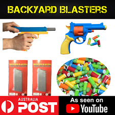 Backyard Blasters Rubber Bullet Gun Complete Fun Pack