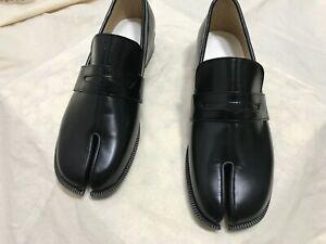 Handmade] Women Leather Tabi Loafer Slip On Shoes Flat Oxfords Maison Derby  Clas   eBay