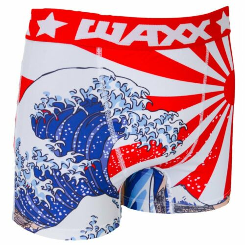 WAXX Underwear Tsunami Men/'s Boxer Short S